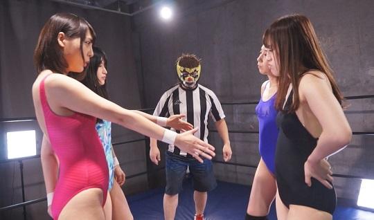 女子プロレススペシャルタッグマッチ 1